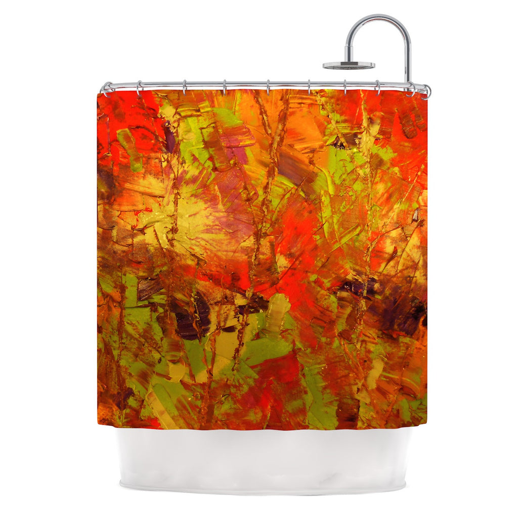 Autumn Shower Curtain by Jeff Ferst | KESS InHouse