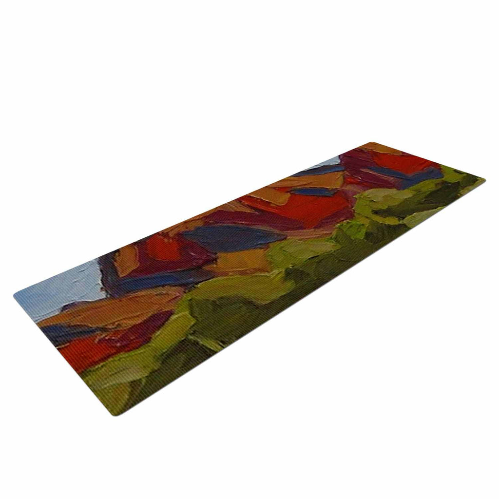 "Jeff Ferst ""Arizona"" Desert Mountain Yoga Mat - KESS InHouse  - 1"