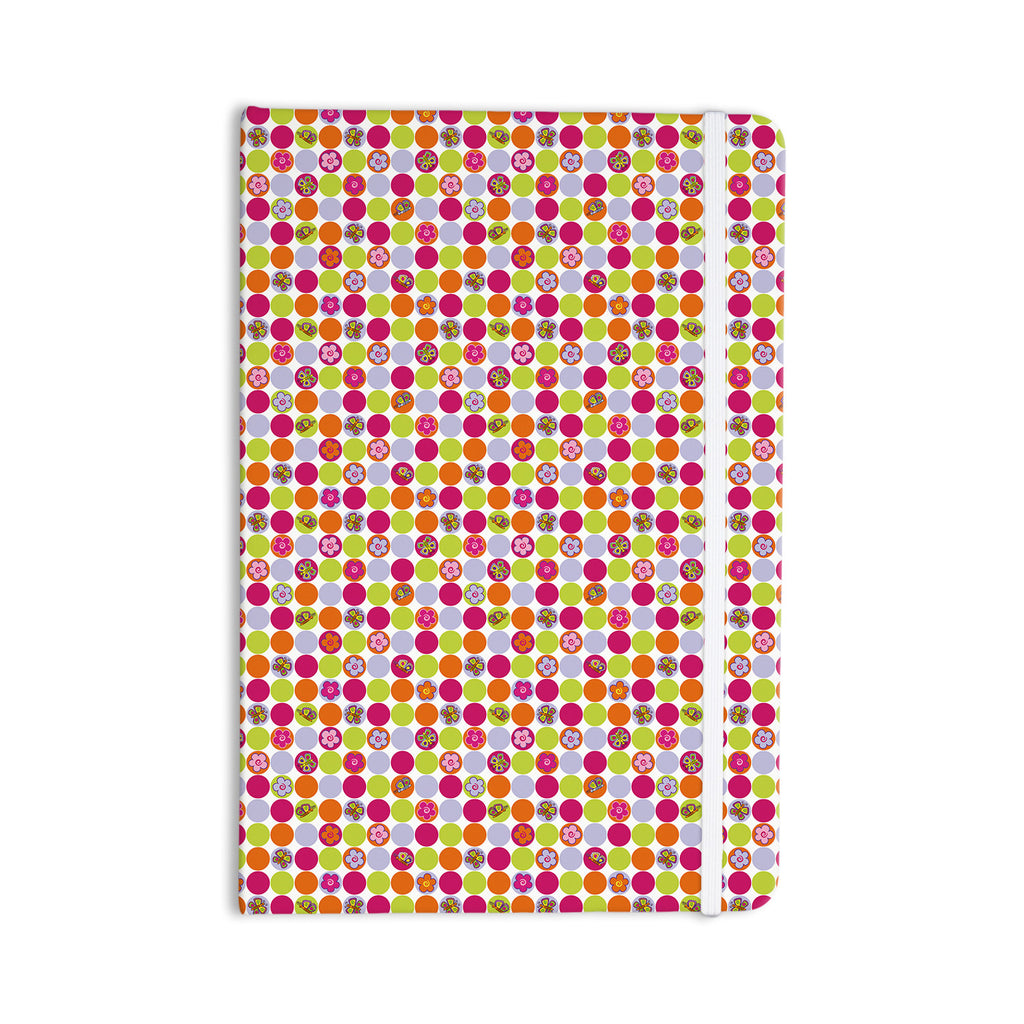 "Julia Grifol ""Happy Circles"" Everything Notebook - KESS InHouse  - 1"