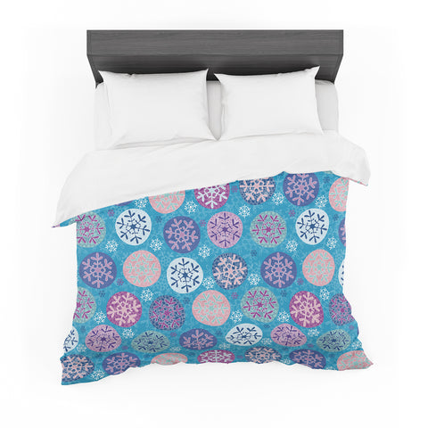 "Julia Grifol ""Floral Winter"" Featherweight Duvet Cover"