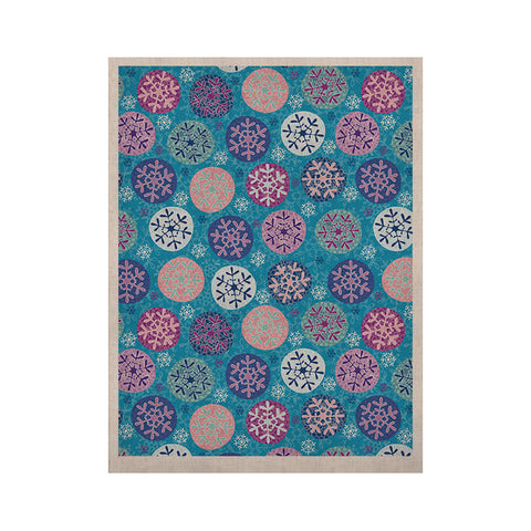 "Julia Grifol ""Floral Winter"" KESS Naturals Canvas (Frame not Included) - KESS InHouse  - 1"