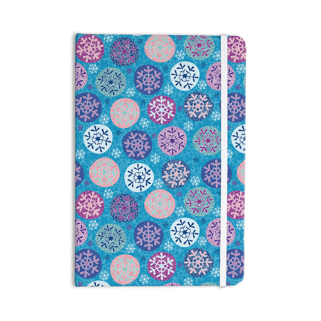 "Julia Grifol ""Floral Winter"" Everything Notebook - KESS InHouse  - 1"