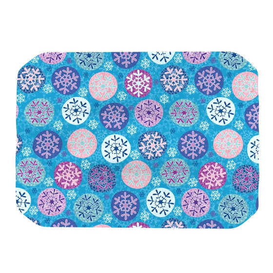 "Julia Grifol ""Floral Winter"" Place Mat - KESS InHouse"