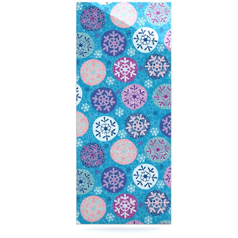 "Julia Grifol ""Floral Winter"" Luxe Rectangle Panel - KESS InHouse  - 1"