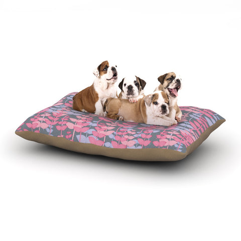 "Julia Grifol ""My Leaves Garden"" Dog Bed - KESS InHouse  - 1"