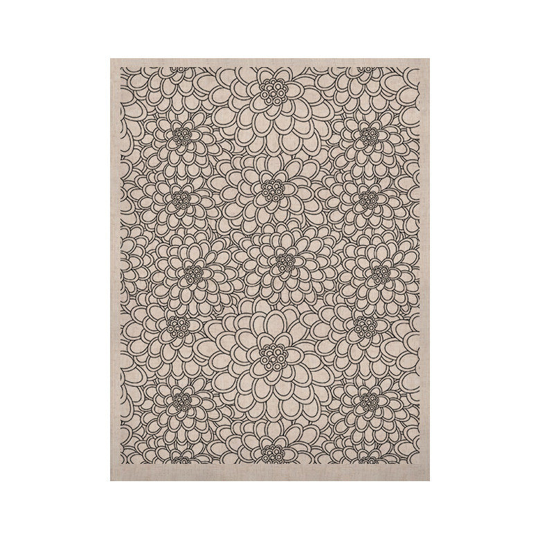 "Julia Grifol ""White Flowers"" KESS Naturals Canvas (Frame not Included) - KESS InHouse  - 1"