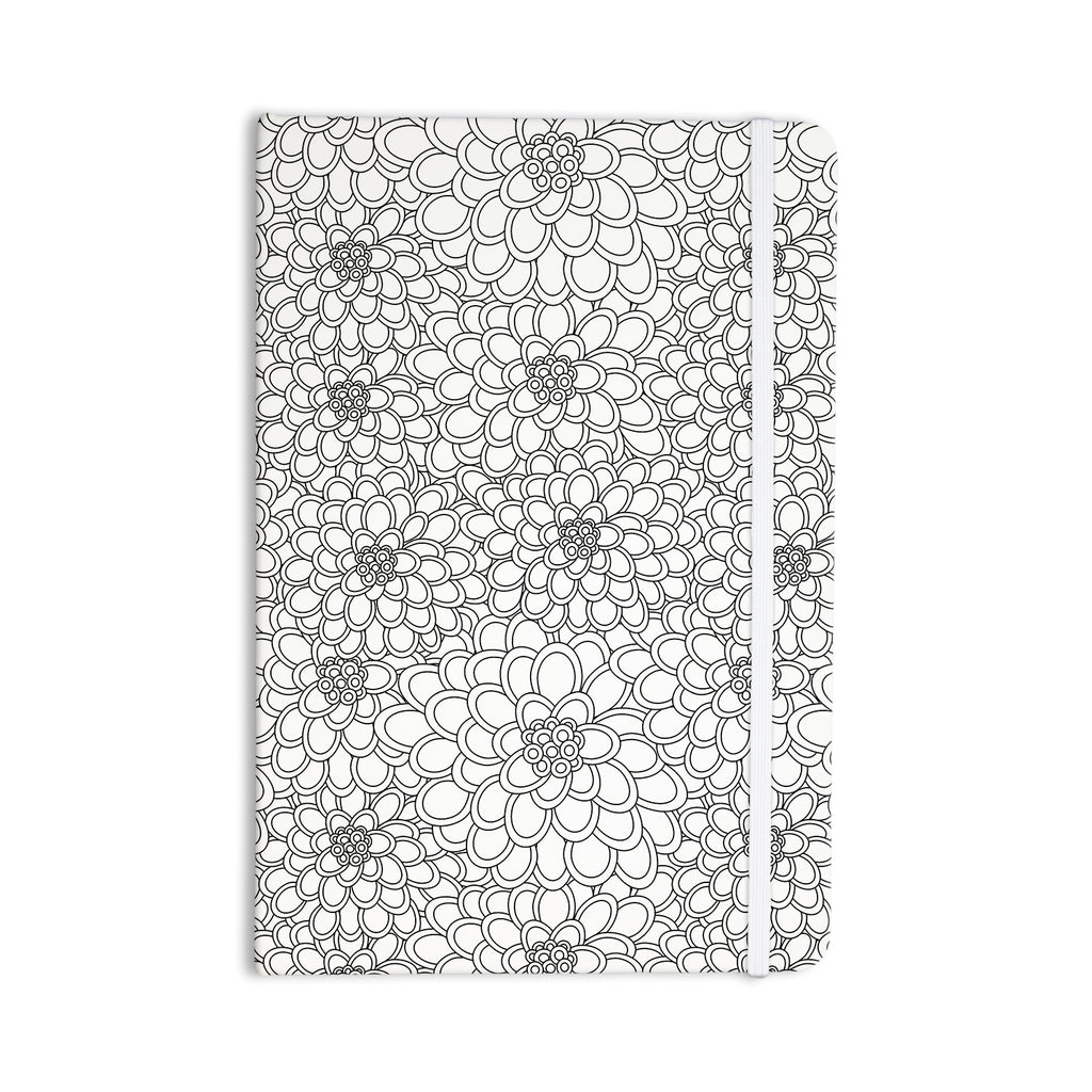 "Julia Grifol ""White Flowers"" Everything Notebook - KESS InHouse  - 1"
