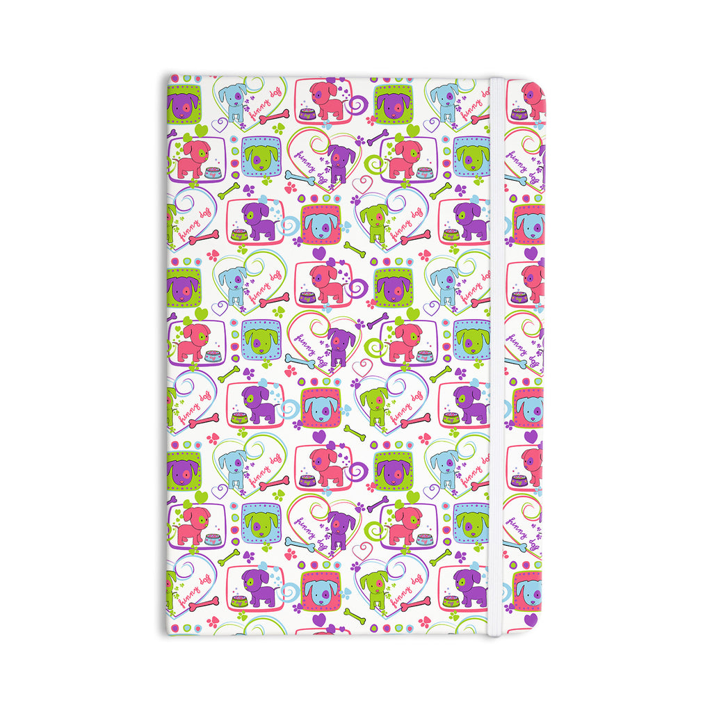 "Julia Grifol ""My Loving Dogs"" Everything Notebook - KESS InHouse  - 1"