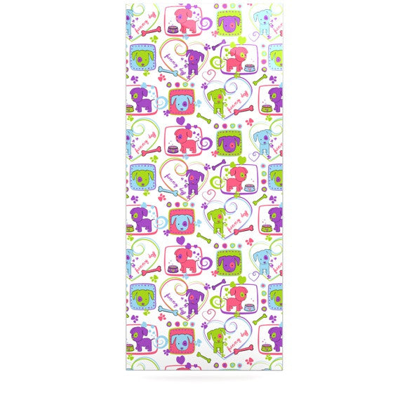 "Julia Grifol ""My Loving Dogs"" Luxe Rectangle Panel - KESS InHouse  - 1"