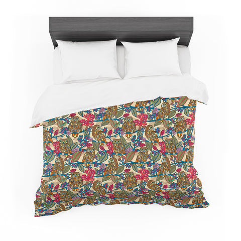 "Julia Grifol ""My Boobooks Owls"" Featherweight Duvet Cover"