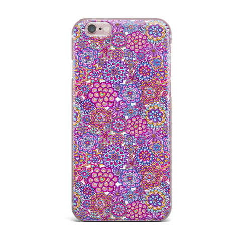 "Julia Grifol ""My Happy Flowers"" iPhone Case - KESS InHouse"