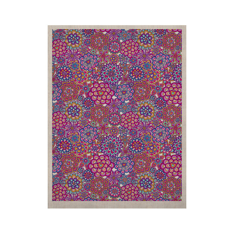 "Julia Grifol ""My Happy Flowers"" KESS Naturals Canvas (Frame not Included) - KESS InHouse  - 1"