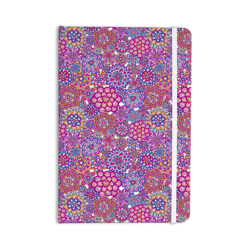 "Julia Grifol ""My Happy Flowers"" Everything Notebook - KESS InHouse  - 1"