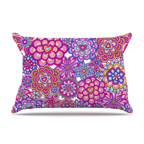 "Julia Grifol ""My Happy Flowers"" Pillow Sham - KESS InHouse"