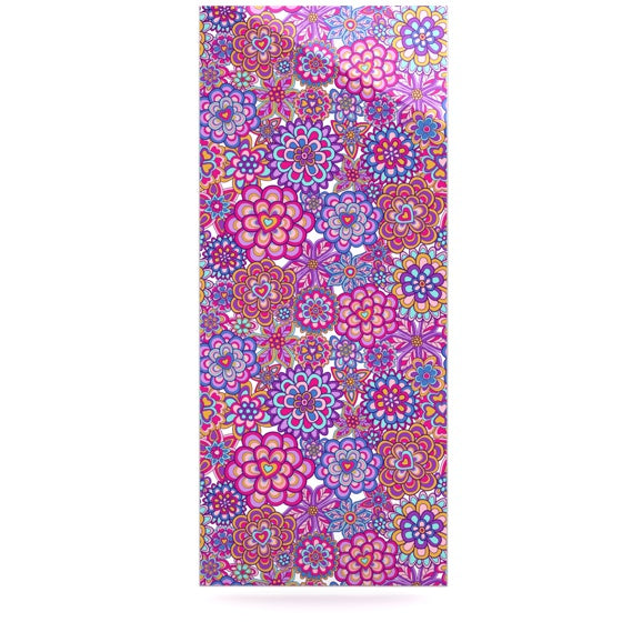 "Julia Grifol ""My Happy Flowers"" Luxe Rectangle Panel - KESS InHouse  - 1"