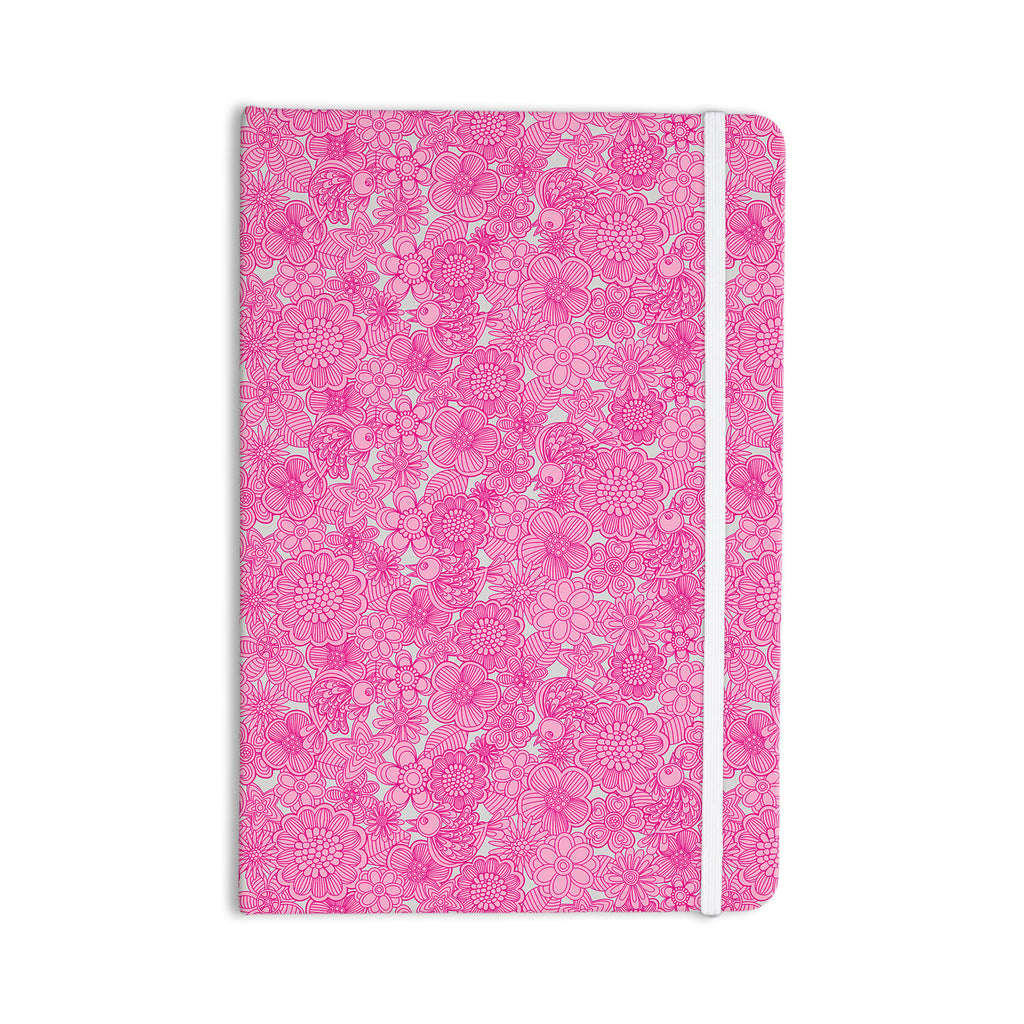 "Julia Grifol ""Welcome Birds To My Pink Garden"" Everything Notebook - KESS InHouse  - 1"