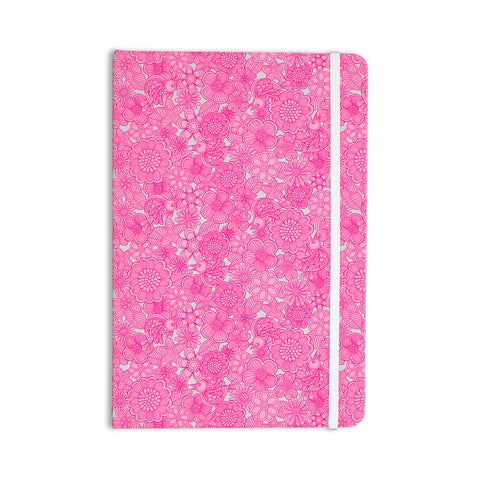 "julia grifol ""Welcome Birds to My Pink Garden""  Everything Notebook - Outlet Item"