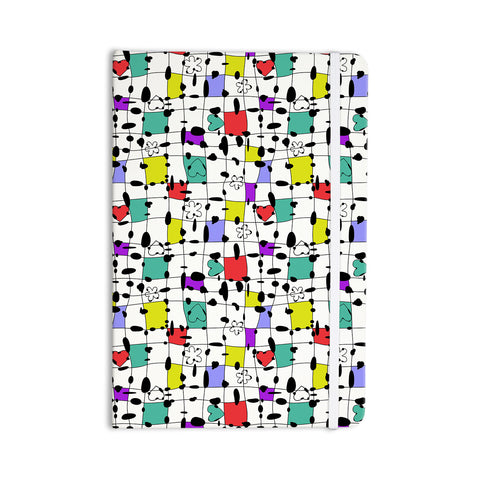"Julia Grifol ""My Happy Squares"" Everything Notebook - KESS InHouse  - 1"