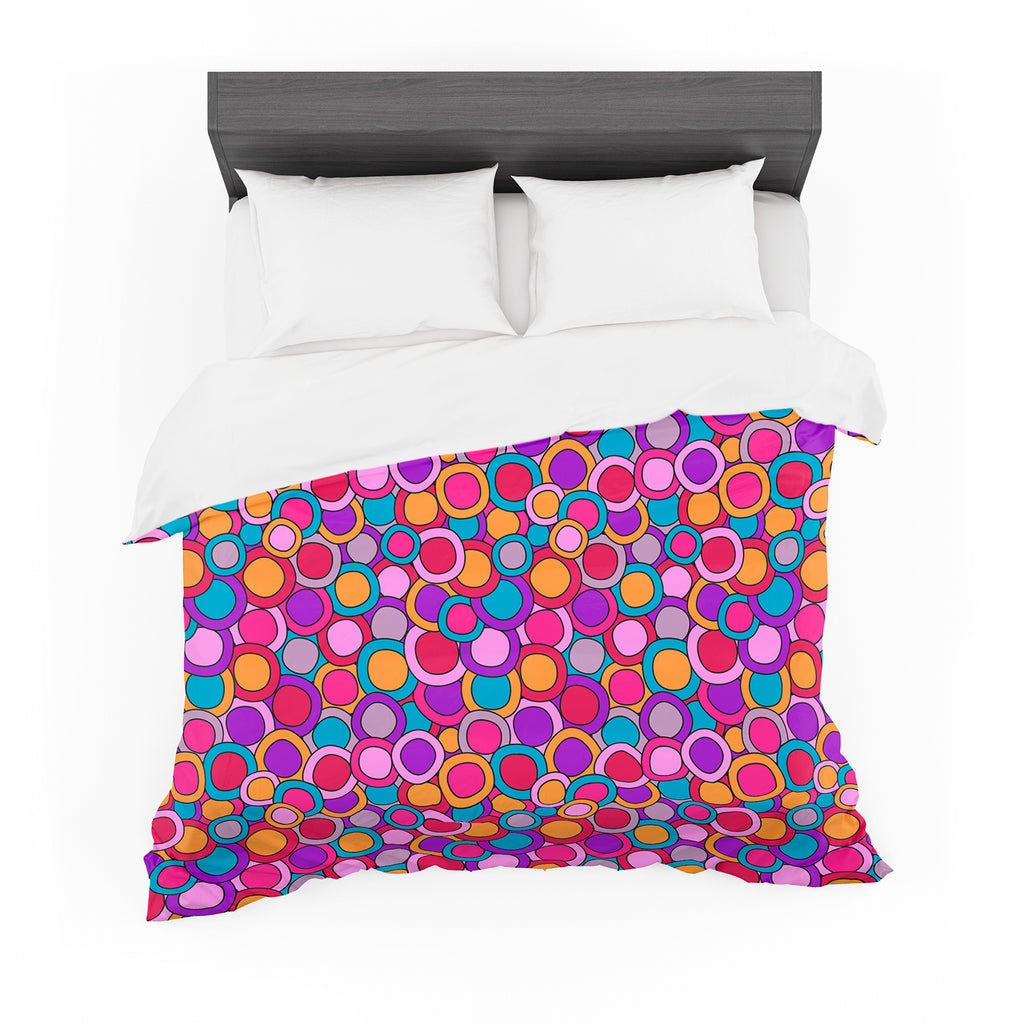 "Julia Grifol ""My Colourful Circles"" Featherweight Duvet Cover"