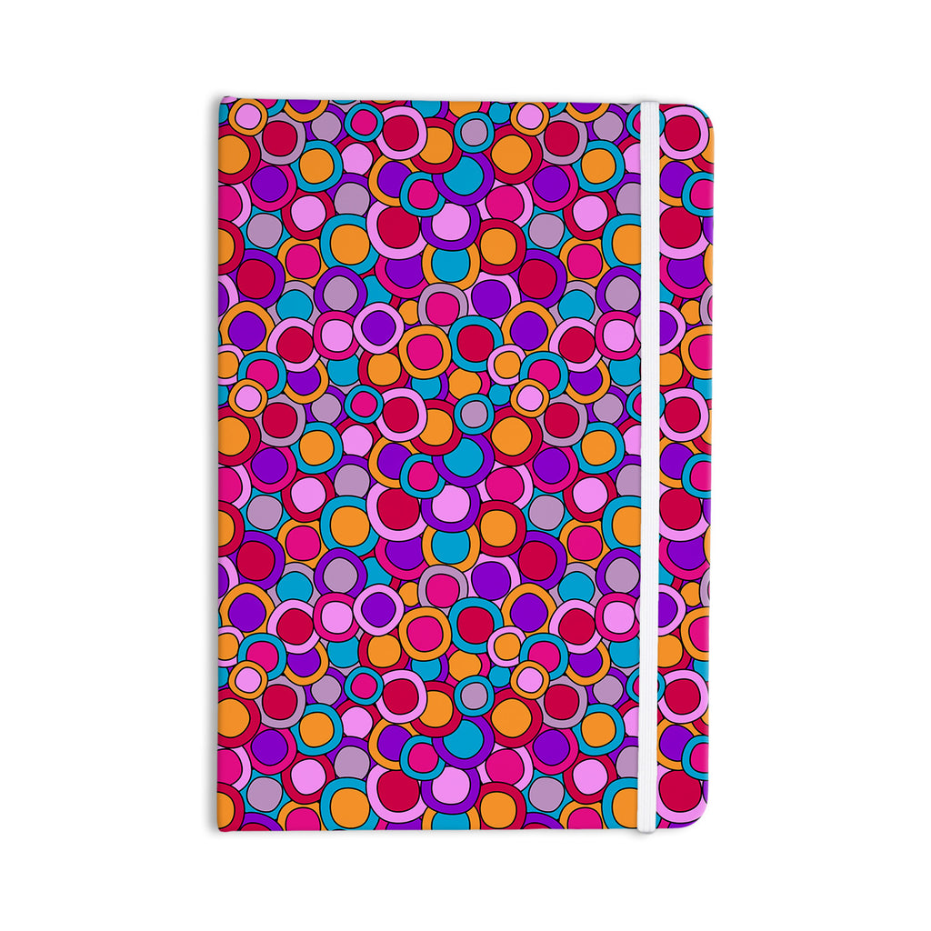 "Julia Grifol ""My Colourful Circles"" Everything Notebook - KESS InHouse  - 1"