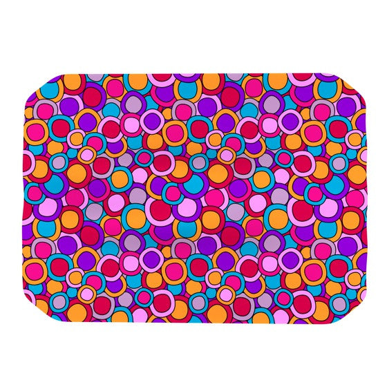 "Julia Grifol ""My Colourful Circles"" Place Mat - KESS InHouse"