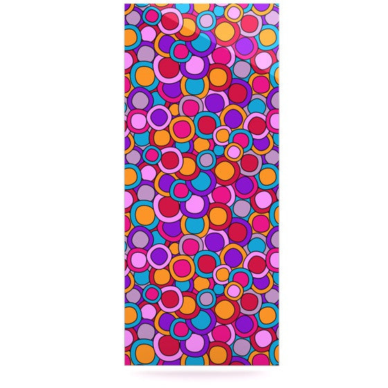 "Julia Grifol ""My Colourful Circles"" Luxe Rectangle Panel - KESS InHouse  - 1"