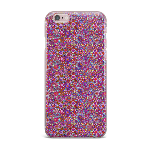 "Julia Grifol ""My Dreams in Color"" Pink Stars iPhone Case - KESS InHouse"