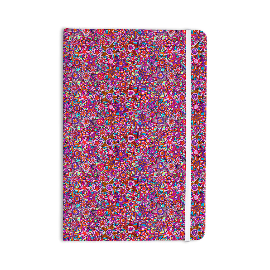 "Julia Grifol ""My Dreams in Color"" Pink Stars Everything Notebook - KESS InHouse  - 1"