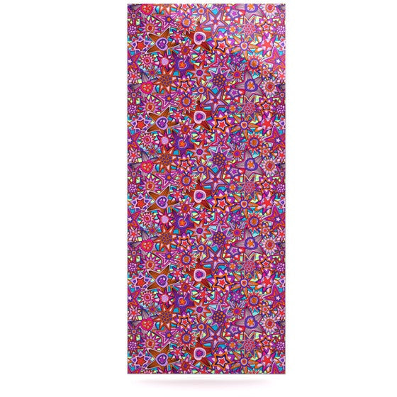 "Julia Grifol ""My Dreams in Color"" Pink Stars Luxe Rectangle Panel - KESS InHouse  - 1"