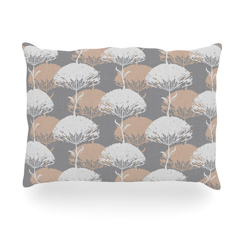"Julia Grifol ""Charming Tree"" Oblong Pillow - KESS InHouse"