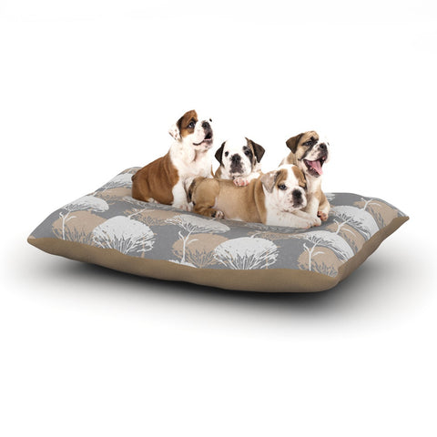 "Julia Grifol ""Charming Tree"" Dog Bed - KESS InHouse  - 1"