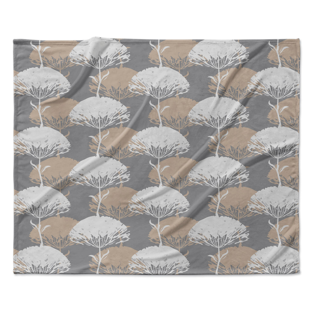 "Julia Grifol ""Charming Tree"" Fleece Throw Blanket"