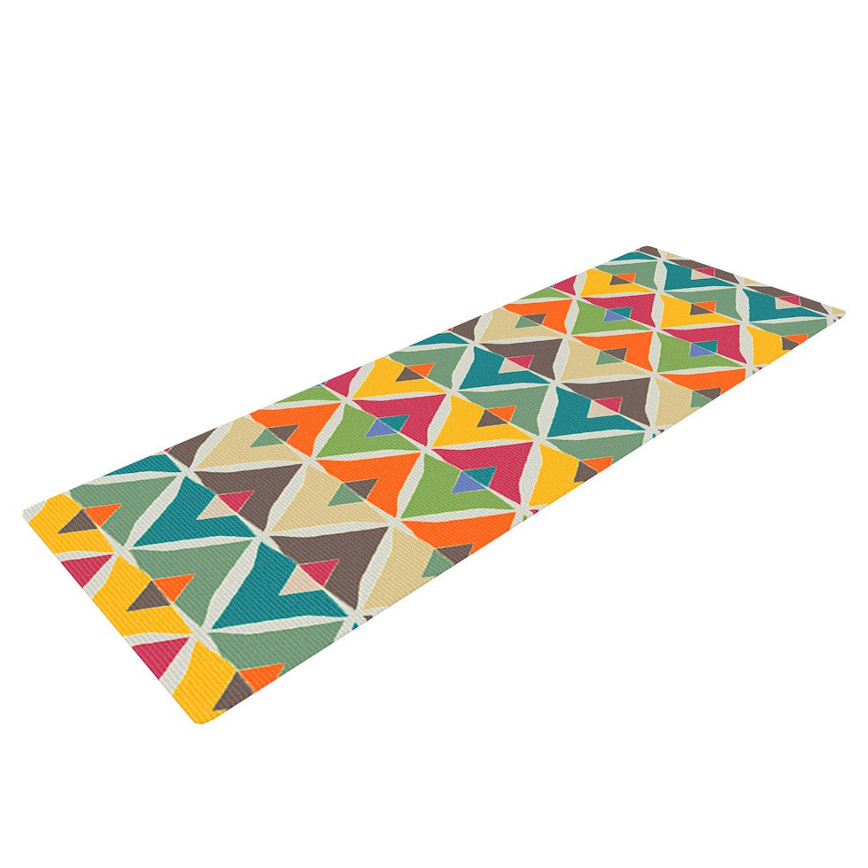 "Julia Grifol ""My Diamond"" Yoga Mat - KESS InHouse  - 1"