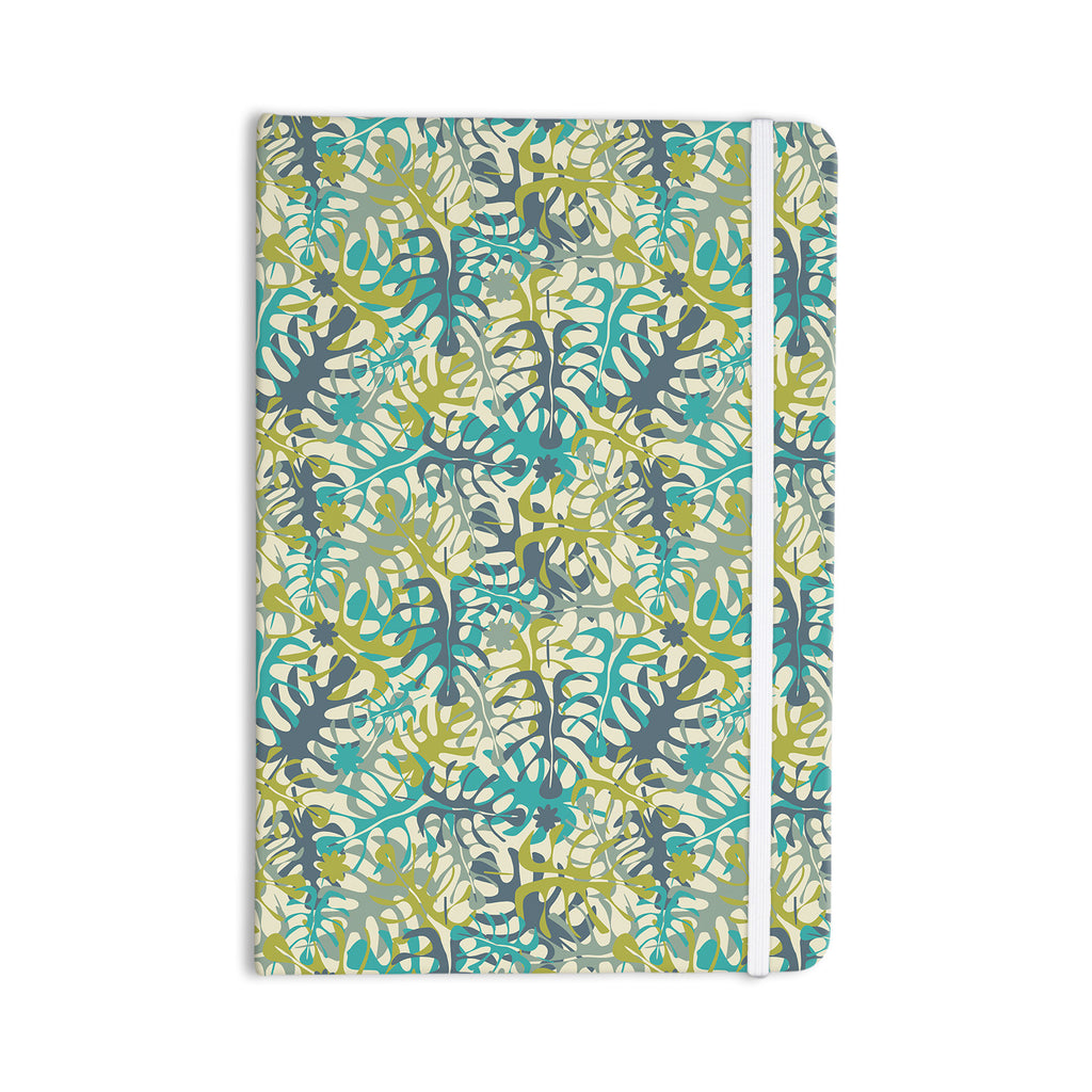"Julia Grifol ""Tropical Leaves"" Everything Notebook - KESS InHouse  - 1"