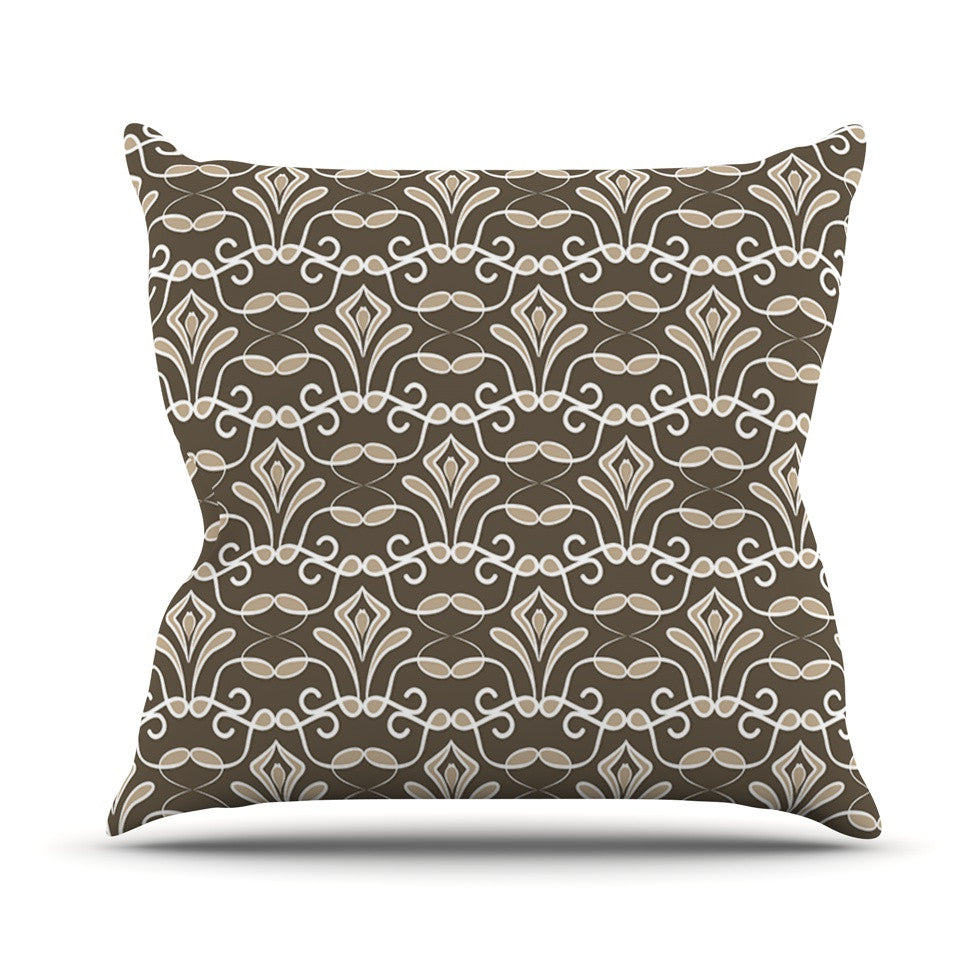 "Julia Grifol ""Deco"" Throw Pillow - KESS InHouse  - 1"