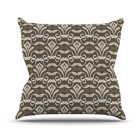 "julia grifol ""Deco""  Outdoor Throw Pillow - Outlet Item"