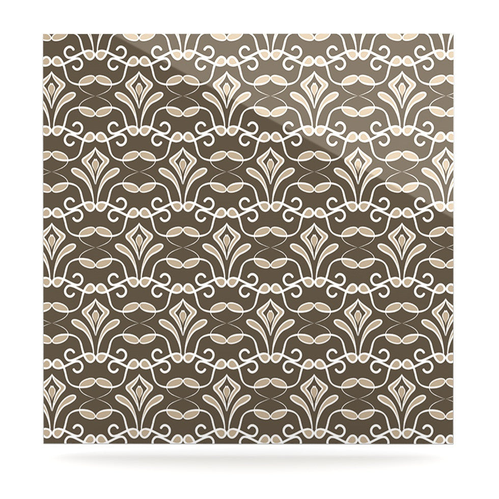 "Julia Grifol ""Deco"" Luxe Square Panel - KESS InHouse  - 1"