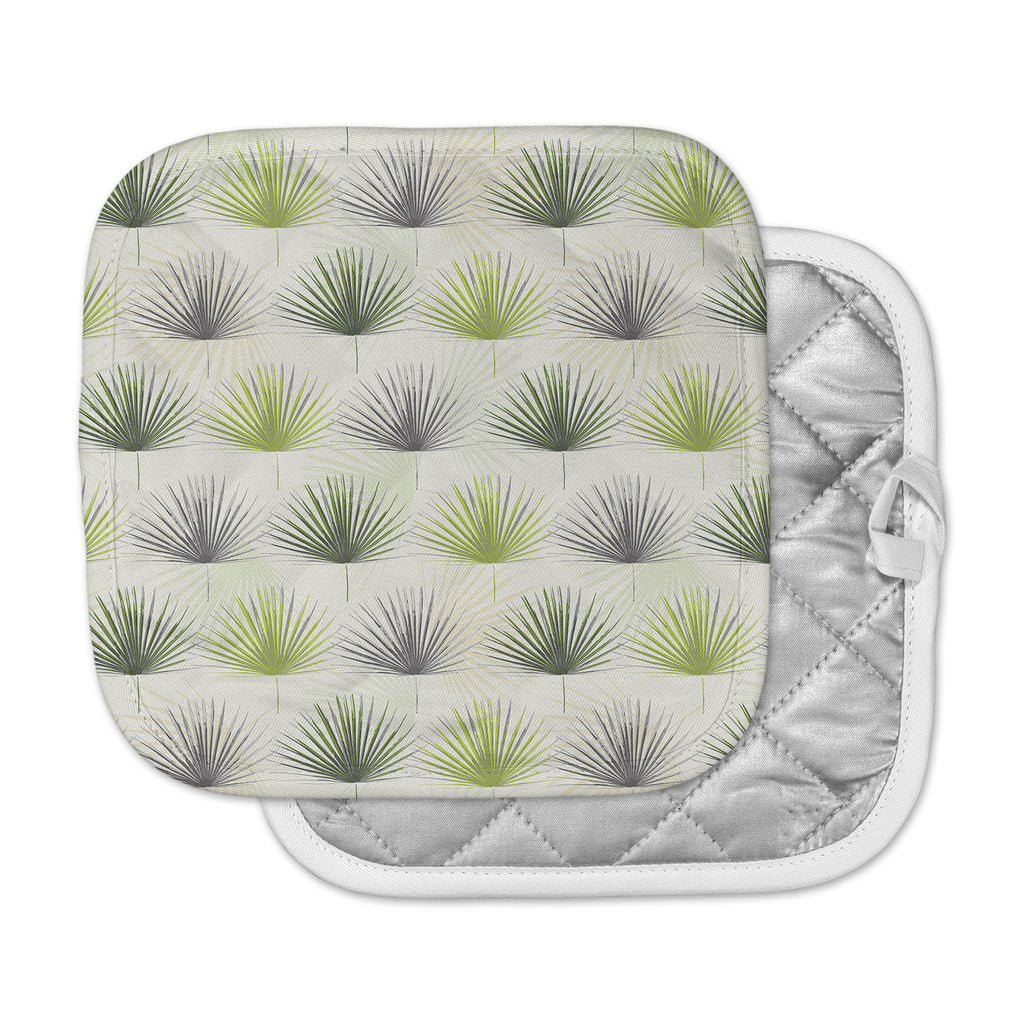 "Julia Grifol ""My Holidays Time"" Green Pot Holder"