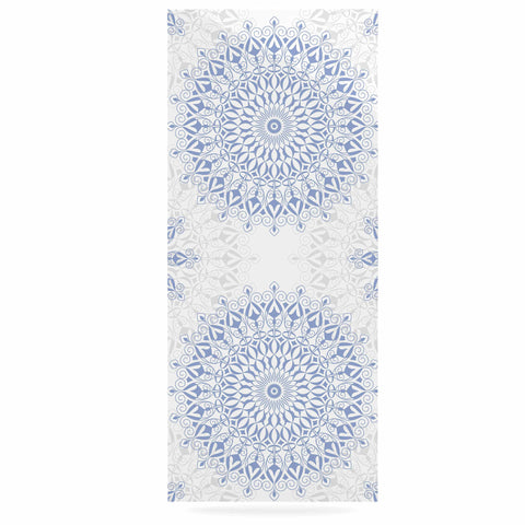 "Julia Grifol ""Mandalas In Blue"" Vector Geometric Luxe Rectangle Panel - KESS InHouse  - 1"