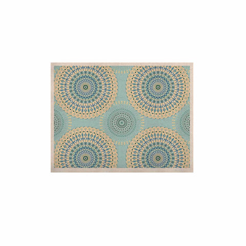 "Julia Grifol ""Sweet Time"" Blue Pastel Geometric Pattern Vector Digital KESS Naturals Canvas (Frame not Included)"