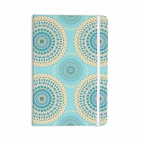 "Julia Grifol ""Sweet Time"" Blue Pastel Geometric Pattern Vector Digital Everything Notebook"