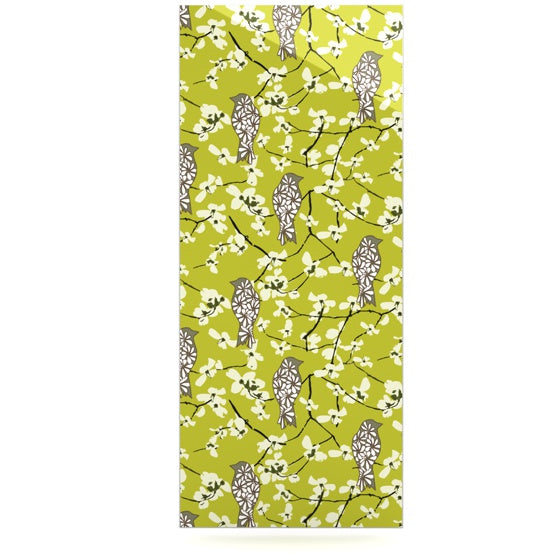 "Julie Hamilton ""Blossom Bird"" Luxe Rectangle Panel - KESS InHouse  - 1"