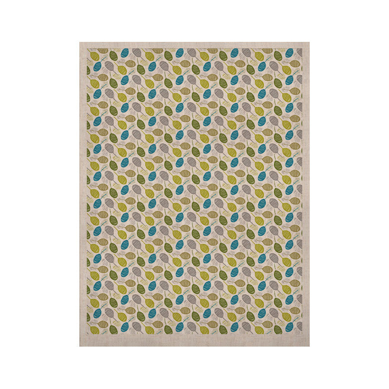 "Julie Hamilton ""Tangled Teal"" KESS Naturals Canvas (Frame not Included) - KESS InHouse  - 1"