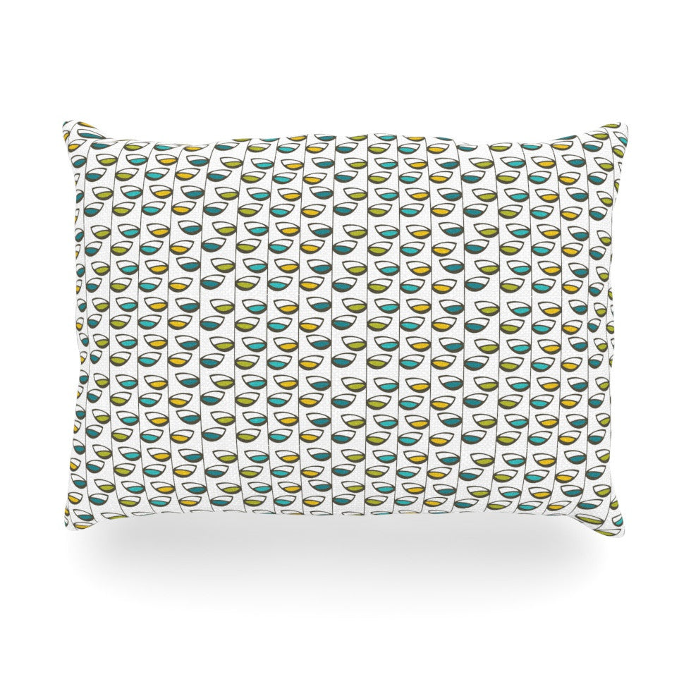 "Julie Hamilton ""Spring Stem"" Oblong Pillow - KESS InHouse"