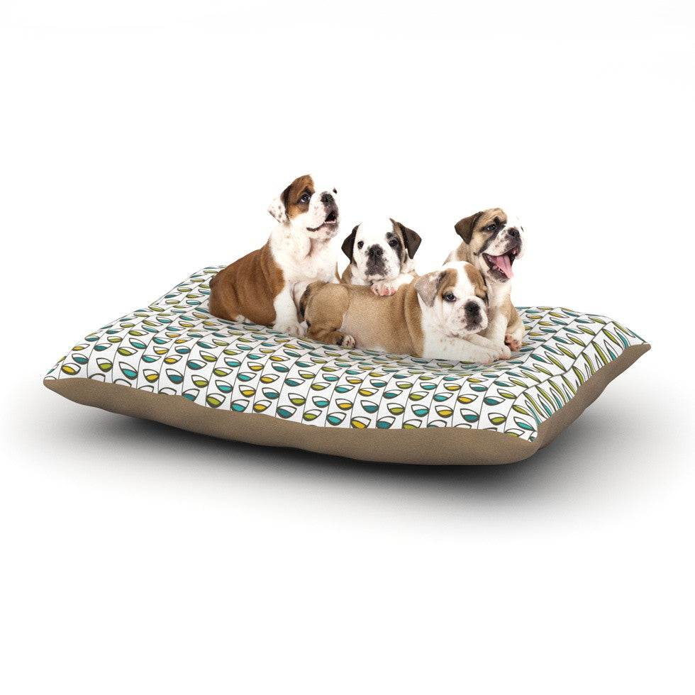 "Julie Hamilton ""Spring Stem"" Dog Bed - KESS InHouse  - 1"