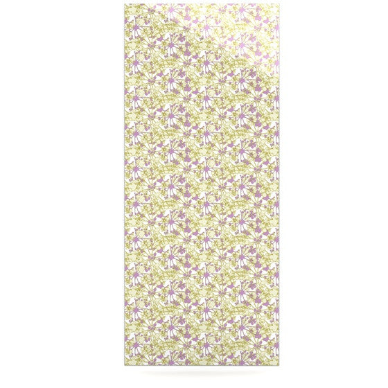 "Julie Hamilton ""Rhapsody Vine"" Yellow Purple Luxe Rectangle Panel - KESS InHouse  - 1"
