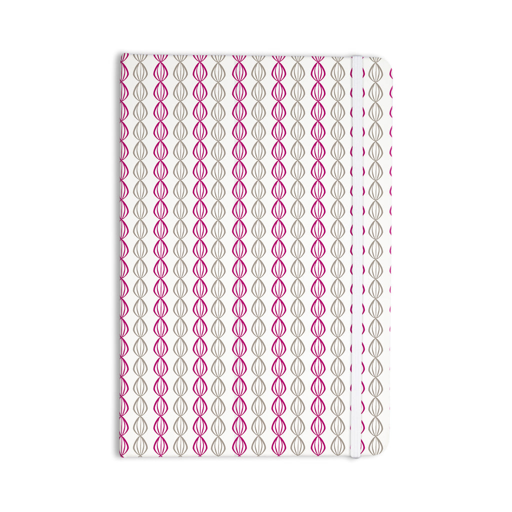 "Julie Hamilton ""Plum Pod"" Purple Gray Everything Notebook - KESS InHouse  - 1"
