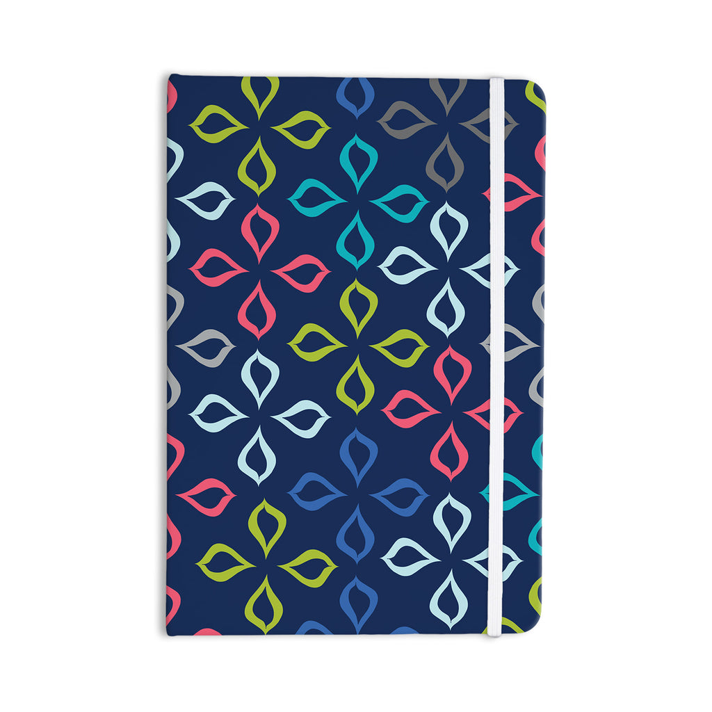 "Jolene Heckman ""Simple Flower"" Blue Flowers Everything Notebook - KESS InHouse  - 1"