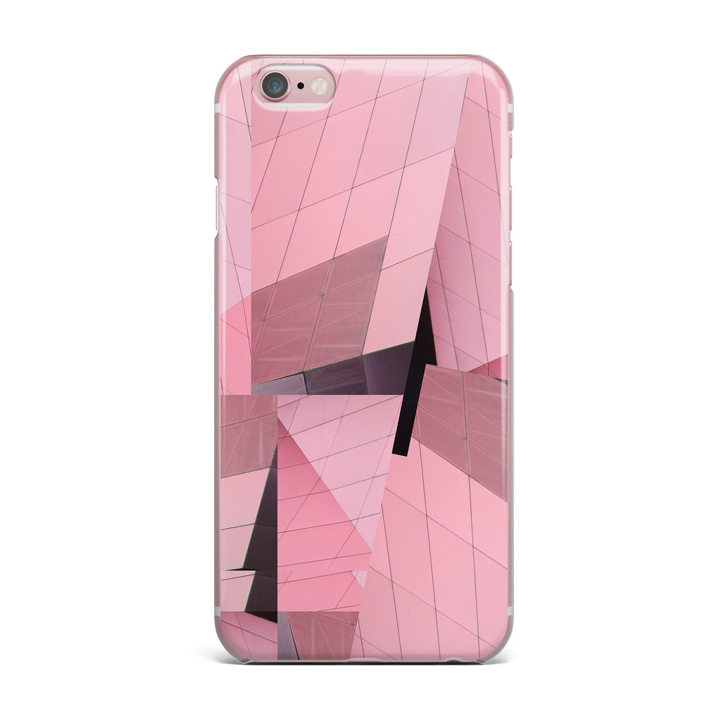 "Tiny September ""Pink Flamingo"" Pink Black Digital iPhone Case - KESS InHouse"