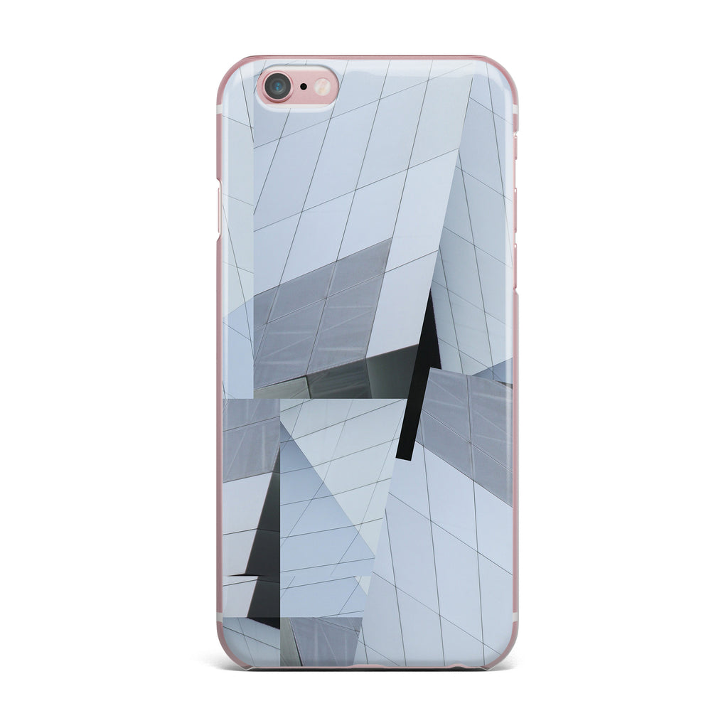 "Tiny September ""First Frost"" Blue Black Digital iPhone Case - KESS InHouse"
